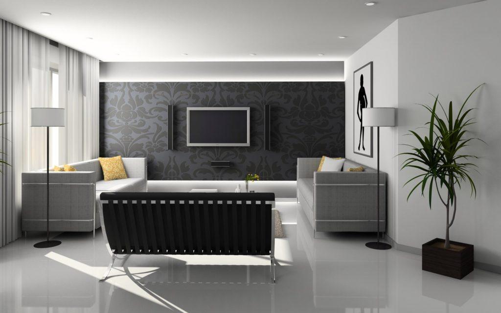 Helle Zimmerdecke für mehr Wohngefühl