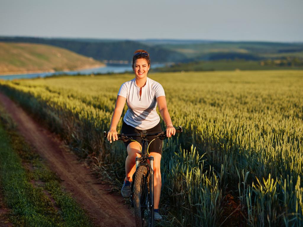 Radfahren ist umweltfreundlich